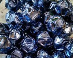 20mm Glitter Bubblegum Beads by OpheliaRoseSupplies on Etsy