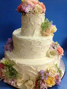 Merci Beaucoup Wedding Cake