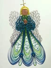 Pleasure in creation: Quilled angel