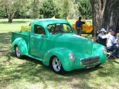 New Kid on the Block a perfectly presented Willys Pickup!!
