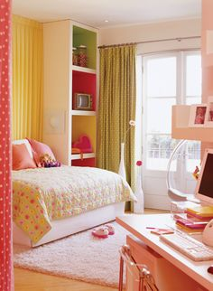 Colourful Kid's Room // Photographer Mark Burstyn // House & Home June 2006 issue