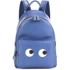 Anya Hindmarch Eyes Right Mini Leather Backpack ( 1,510) ❤ liked on Polyvore  featuring bags 15b7eceefe