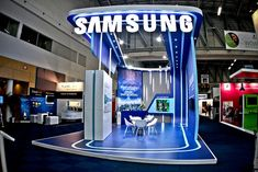 Samsung booth l AfricaCom 2012 twitter : #exhibition #booth @ijoy_hatta