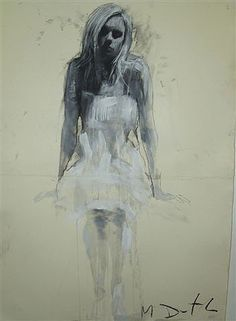 Pictures of the Mark Demsteader (2008) exhibition at the Panter & Hall Gallery