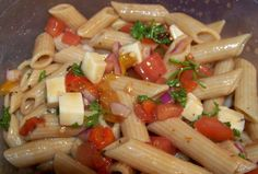 Mother Rimmy's Roasted Pepper Pasta Salad