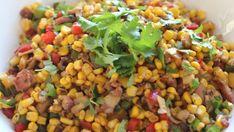Ginger and Coriander Corn Salad | Recipes | Food Network UK