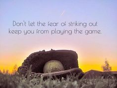such a sweet softball quote