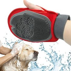 Like and Share if you want this Dogs Grooming Brush Glove For Washing, Massage Or Comb - For Long Or Short Hair Pets Tag a friend who would love this! FREE Shipping Worldwide Buy one here https://mikia.myshopify.com/