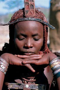 Africa | Himba woman. Namibia.