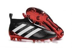 Adidas Ace 16+ Purecontrol Soccer Cleats Black White Red Soccer Shoes 39a45ce585fb5