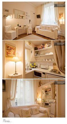 Studio appartment living on pinterest studio apartments for Studio apartments ideas small spaces