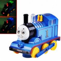 THOMAS MOVING TRAIN ENGINE WITH LIGHTS, SOUND, MOVING EYES & MOUTH