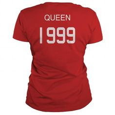 Queen 1999 Shirts T Shirt Hoodie Shirt VNeck Shirt Sweat Shirt Youth Tee for womens and Men #1999