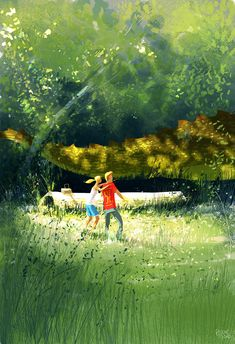 That was definitely a strange picnic. by Pascal Campion.