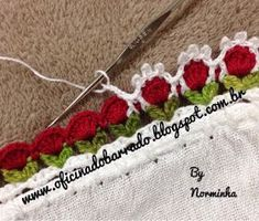 How to Crochet a Simple Shell Stitch Pattern - Stitchorama by Naztazia - Crochet Ragdolls Crochet Boarders, Crochet Edging Patterns, Crochet Lace Edging, Crochet Trim, Filet Crochet, Crochet Designs, Crochet Doilies, Crochet Flowers, Crochet Stitches