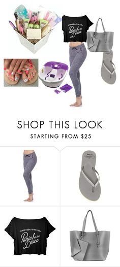 """""""Untitled #133"""" by julissadegrijze on Polyvore featuring beauty, good hYOUman, Reef, Topshop and Dr. Scholl's"""