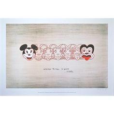 Mickey to Tiki medium unframed print - From Global Culture
