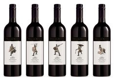 """The Quest"" by Chalice Bridge Estate, a winery from Margaret River, Western Australia - Want them all!"