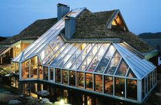 lean to Garden room Greenhouse Kits Using Ideas Maison Earthship, Earthship Home, Best Greenhouse, Greenhouse Plans, Winter Greenhouse, Home Flower Arrangements, Garden Design, House Design, House In Nature