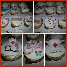 Nursing cupcakes/graduation