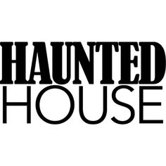 Haunted House text ❤ liked on Polyvore featuring words, halloween, backgrounds, quote's, text, phrase and saying