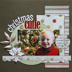 Christmas Cutie - Scrapbook.com
