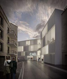Antonio Virga Architect · Cultural Centre