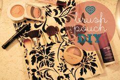 Epic Thread: Makeup Brush Pouch | DIY