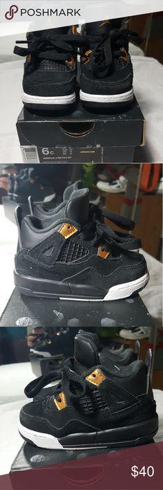 """AIR JORDAN RETRO """"ROYALITY"""" 4S SZ 6C AIR JORDAN RETRO """"ROYALITY"""" 4S SZ 6C Air Jordan Shoes Sneakers"""