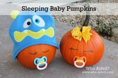 baby-pumpkins-for-halloween-party - Home Decorating Trends - Homedit Halloween Pumpkins, Halloween Crafts, Holiday Crafts, Holiday Fun, Halloween Party, Holiday Ideas, Thanksgiving Ideas, Halloween Stuff, Favorite Holiday