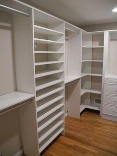 Jackson Walk Closet ~ Monolithic Look - traditional - closet - newark - All About Closets