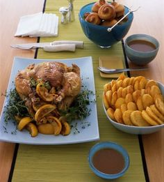 Roast Capon with Lemon and Thyme / Anna Williams