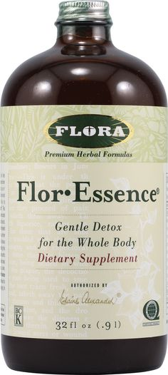 Flora Flor-Essence® Gentle Detox For The Whole Body