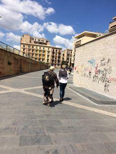 Palermo, palazzo di giustizia. vittoria ed elena