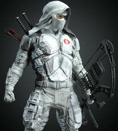 Ninja Armor, Sci Fi Armor, Gi Joe Characters, Naruto Oc Characters, Snake Eyes Gi Joe, Tactical Suit, Storm Shadow, Fantasy Comics, Superhero Design