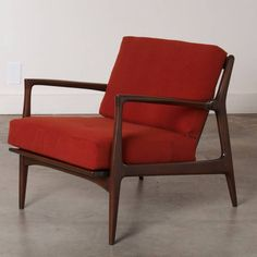 Dux Mid-Century Scandinavian Design Walnut Arm Chair, 1960s | guest room