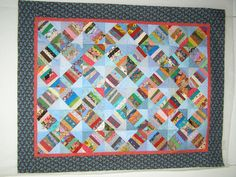 string quilts | wonderful pattern for community group quilts. The instructions will ...