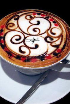 #Latte Art <3 <3 <3