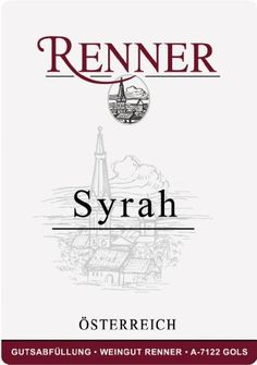 2002 Renner Burgenland Syrah 750 mL * You can find more details by visiting the image link.  This link participates in Amazon Service LLC Associates Program, a program designed to let participant earn advertising fees by advertising and linking to Amazon.com.