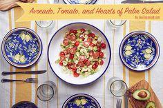 Recipe Box: Truffled Avocado, Tomato, and Hearts of Palm Salad