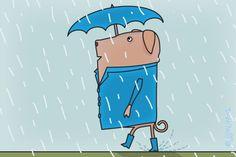 "Gratis e-card: ""Regen"""