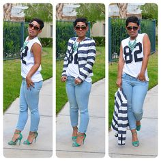 Fashion, Lifestyle, and DIY: Working The Basics: Jeans & Tee