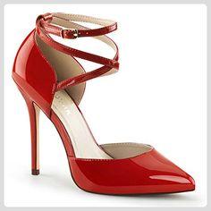 Sling Back Pumps, Damen, Rot (rot), Größe 35 - Damen pumps (*Partner-Link)