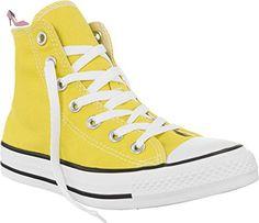 Converse Chuck Taylor All Star Montante Jaune Pâle Jaune 36 - Chaussures converse (*Partner-Link)