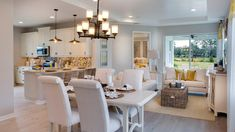 An Open Floor Plan Makes Entertaining A Breeze In This Sunny And Inviting Space The Azalea Plan Built By Kolter Homes The Cresswind At Victori Home Home Decor