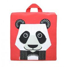 Sac à dos enfant maternelle rose – MIBO - Panda