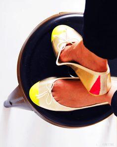 Neon Toe Flats | Funkytime