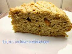 Bananen-Erdnussbutter-Kuchen mit Zimt-Kruste