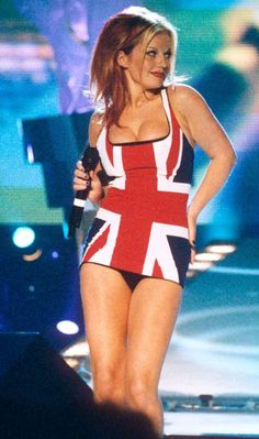 Geri Halliwell, before she had that weird skinny way