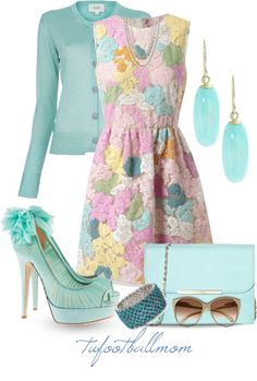 "Easter Sunday or Spring  ""Peep Toe Pumps!"" by tufootballmom on Polyvore"